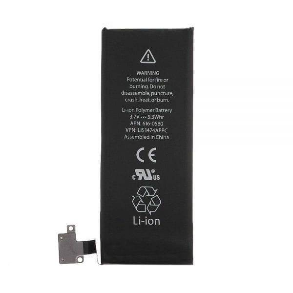 Original battery 616-0579,616-0580 for Mobile Phone iphone 4s