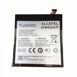 Original battery TLP025D2 for Mobile Phone Alcatel