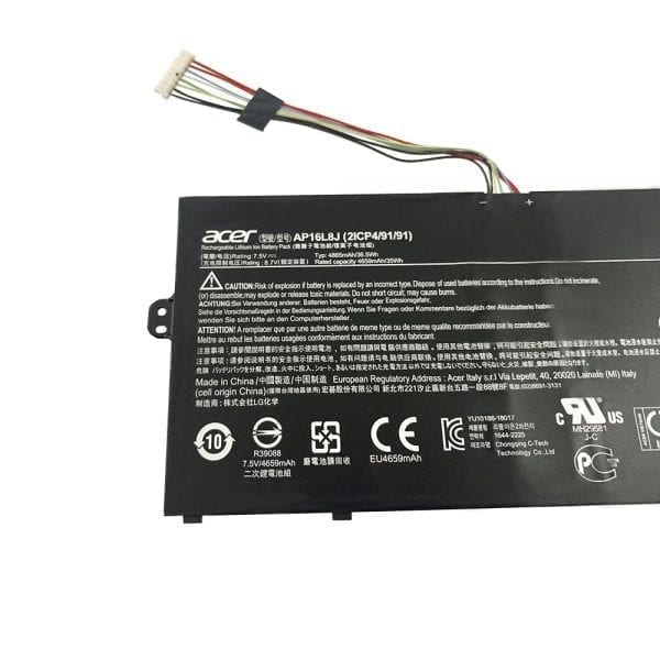 Original battery for Acer Chromebook Spin 311 CP311
